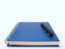 Feder und Buch Lizenzfreie Stockfotos