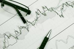 Feder und Tendenzen stockfoto