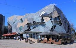 Federação Melbourne quadrado Imagens de Stock Royalty Free