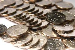Federação Russa das moedas imagem de stock
