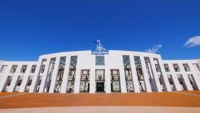 Federaal het parlementshuis Australië stock footage