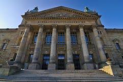 Federaal hof in Leipzig stock afbeelding