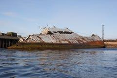 Federación Rusa abandonada norte de la región de Murmansk Rusia Imagen de archivo