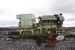 Federación Rusa abandonada norte de la región de Murmansk Rusia Fotos de archivo