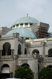Federacyjnego terytorium meczet a K masjid Wilayah Persekutuan Obraz Royalty Free