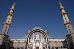 Federacyjnego terytorium meczet, Kuala Lumpur Malezja przy niebieskim niebem Obrazy Royalty Free