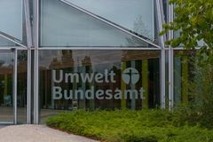 Federacyjny agencja ds. ochrony środowiska Dessau-Roßlau obrazy stock