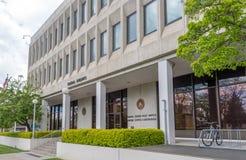 Federacyjny budynek i gmach sądu w Coeur d& x27; Alene, Idaho fotografia royalty free