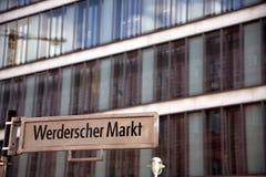 Federacyjny Foreign Office Niemcy przy Werderscher Markt, Berlin Obrazy Stock