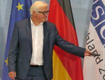 Federacyjny ministra spraw zagranicznych Dr Frank-Walter Steinmeier przy Nieformalnym OSCE ministra spraw zagranicznych spotkanie obrazy stock