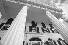 Federal architectural detail, Newfane, USA Royalty Free Stock Photos