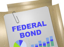 Federal Bond - business concept Stock Image