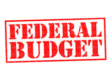 FEDERAL BUDGET Royalty Free Stock Photos