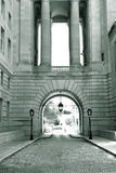 Federal building entrance Royalty Free Stock Images