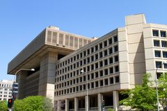 Federal Bureau of Investigation Building. In Washington, D.C Stock Photos