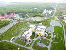 Federal center of neurosurgery, Tyumen, Russia Royalty Free Stock Images