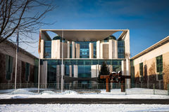 Federal Chancellery Royalty Free Stock Image