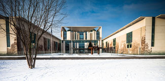 Federal Chancellery Royalty Free Stock Photos