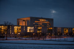 Federal Chancellery Royalty Free Stock Photography