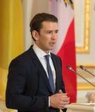 Federal Chancellor of the Republic of Austria Sebastian Kurz Royalty Free Stock Image