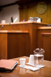 Federal Courtroom Royalty Free Stock Photo