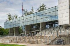 Federal domstolsbyggnad i Eugene Oregon Arkivfoto