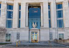 Federal domstolsbyggnad i Montgomery Alabama Fotografering för Bildbyråer