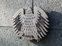 Federal Eagle of Germany. Bundestag administration building Stock Photo