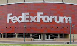 Federal Express Forum Home of the Grizzlies Royalty Free Stock Photos