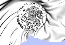 Federal Government of Mexico Seal Stock Photo