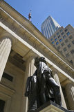 Federal Hall. Statue of George Washington in front of Federal Hall on Wall street, New York [Adobe RGB stock photos