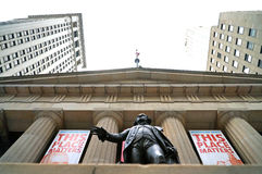 Federal Hall Stock Photo