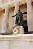 Federal Hall National Memorial. Statue of George Washington - Federal Hall National Memorial, New York City, USA stock photography