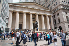 Federal Hall NYC Royalty Free Stock Images