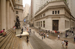 Federal Hall at Wall Street Royalty Free Stock Photo