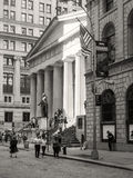 The Federal Hall on Wall Street in New York City Royalty Free Stock Image