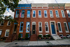 Federal Hill in Batimore, Maryland.  Stock Image