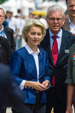 Federal Minister of Defence of Germany, Ursula von der Leyen Stock Photos