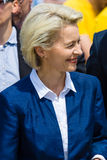 Federal Minister of Defence of Germany, Ursula von der Leyen Stock Photography