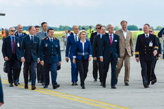 Federal Minister of Defence of Germany, Ursula von der Leyen Royalty Free Stock Photography