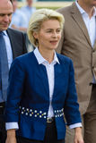 Federal Minister of Defence of Germany, Ursula von der Leyen Royalty Free Stock Photo
