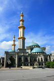 Federal Mosque. Modern Islamic structure based on turkish style, can be use for architecture or religious or culture purpose Stock Image