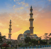 Federal Mosque Kuala Lumpur Royalty Free Stock Image