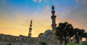 Federal Mosque in Kuala Lumpur Malaysia Royalty Free Stock Photos