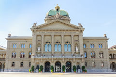 Federal Palace of Switzerland, Bern, capital city of Switzerland Royalty Free Stock Photography