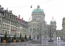 Federal Palace of Switzerland Stock Photography