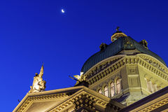 Federal Palace of Switzerland in Bern Royalty Free Stock Photography