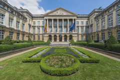 Federal Parliament of Belgium in Brussels. Stock Image
