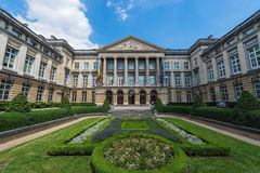 Federal Parliament of Belgium in Brussels. Royalty Free Stock Photo
