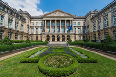 Federal Parliament of Belgium in Brussels. Royalty Free Stock Image